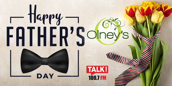 Olneys Fathers Day 600×300 TALK